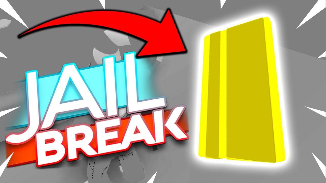 Golden Key Card Roblox Jailbreak Youtube
