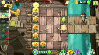 Plantas vs zombies 2 walkthrough Pirate Seas pt 2