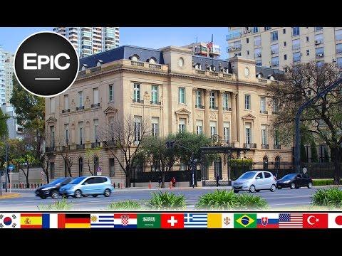 Embajadas en Buenos Aires / Embassies in Buenos Aires - Argentina (HD)