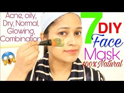 इस-video-को-देखें-बिना-कुछ-भी-चहरे-पर-मत-लगाना-7-diy-for-acne,oily,dry,combination-skin be-natural