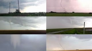 A Man In Canada Gets Surrounded by Six Tornadoes
