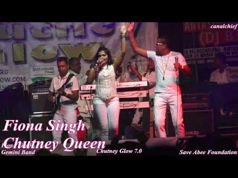 GEMINI BAND,Fiona Singh & Rasheed Bacchus, Chutney Glow 7.0, 2017