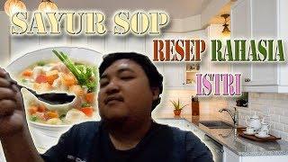 Cara Bikin Sayur sop Enak Resep Rahasia Turun Temurun Istri ( vegetable soup using meatballs )