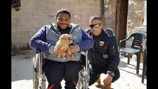 ذهبنا لزيارة الصديق خليل للتعرف على كلابه الجديدة مع جمال العمواسي