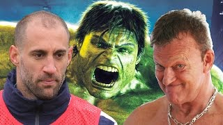 Manchester City: Zabaleta turns Chappy into The Hulk | Pablo shows his artistic side