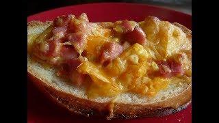 Вкусный ЗАВТРАК-БУТЕРБРОД за 10 МИНУТ/ МИНИ ПИЦЦА НА ХЛЕБЕ/Горячие бутерброды
