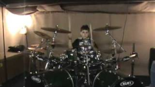 Alex (10) drums Machine Head - The Blood, the Sweat, the Tears
