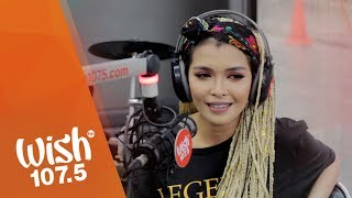 "KZ Tandingan covers ""Two Less Lonely People In The World"" (Kita Kita OST) LIVE on Wish 107.5 Bus"