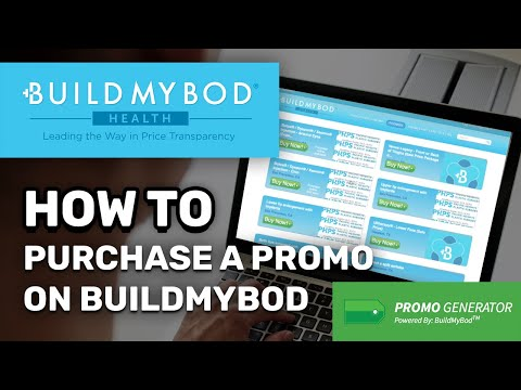 How to purchase a Promo on BuildMyBod!