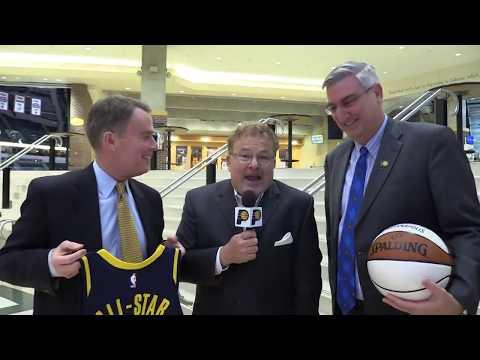Gov. Holcomb & Mayor Hogsett on All-Star Game Returning to Indy