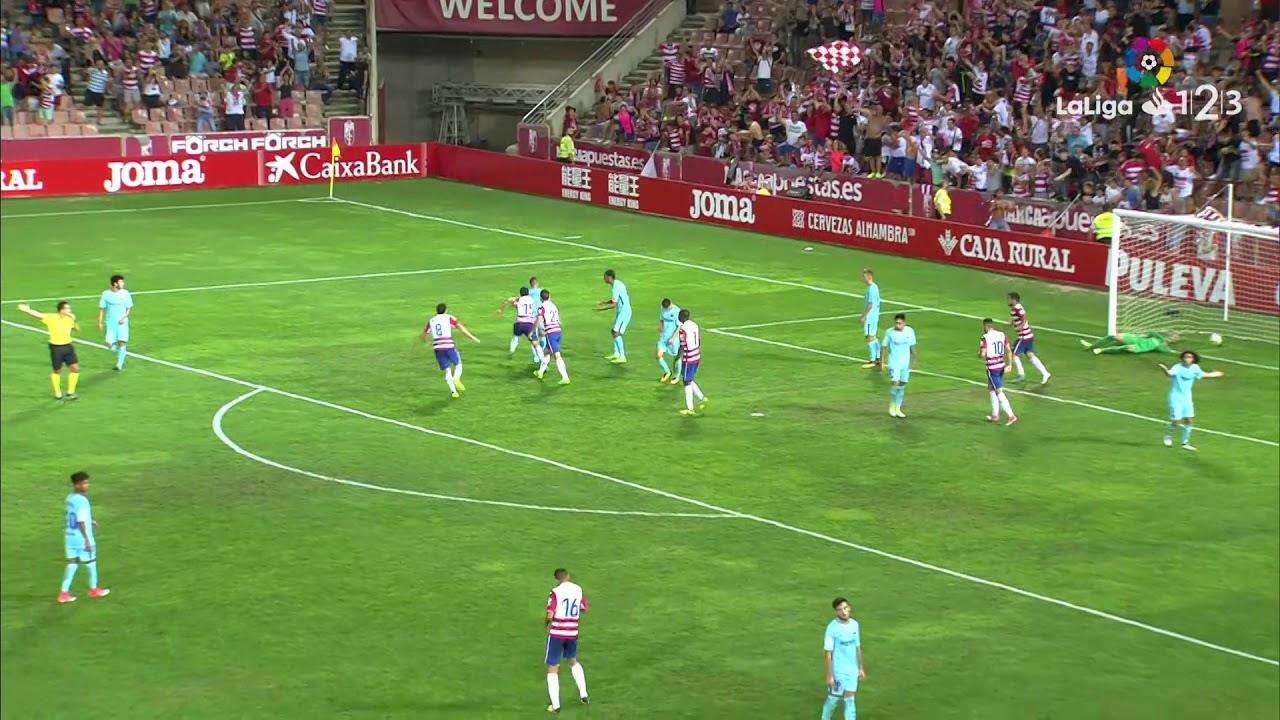 Granada CF 2-2 Barcelona B