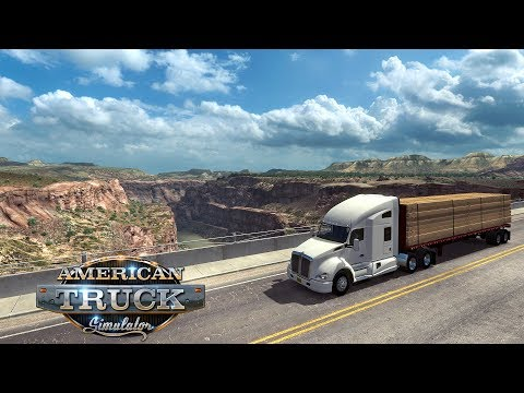 🔔 American Truck Simulator ► Возим лес через Внешние заказы. Стрим АТС Мультиплеер - V 1.35 🔔 #184