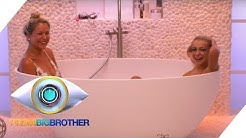 Mit Katja in der Badewanne - die Blicke sind aber woanders | Tag 7 | Promi Big Brother | SAT.1