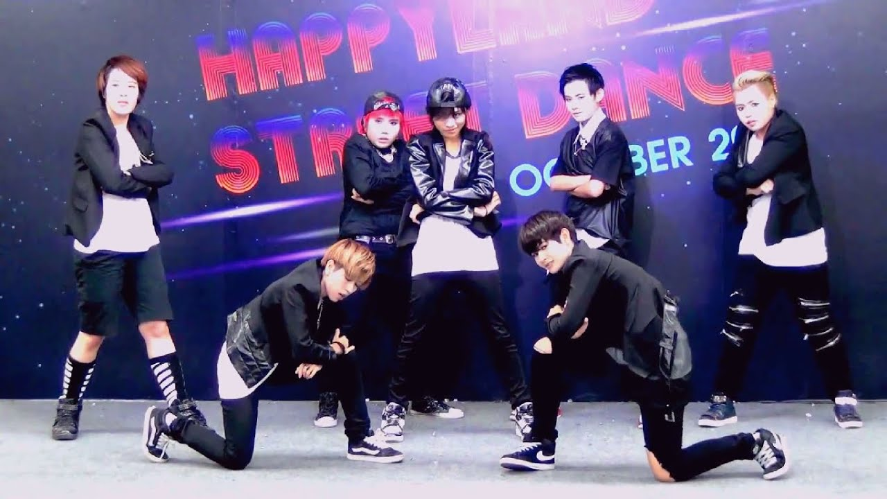 141018 BangEarn cover BTS - Danger @Happyland Street Dance ...