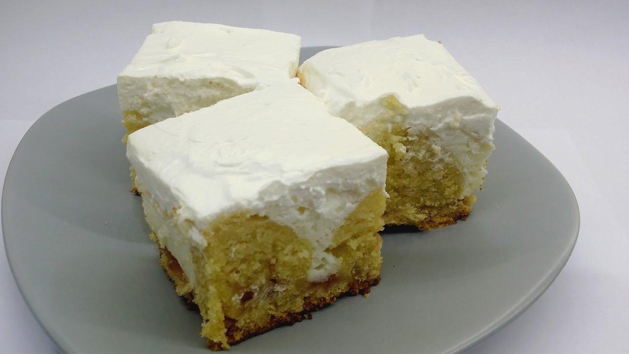 Yogurt cream cake