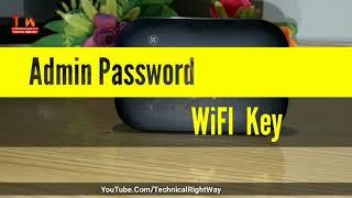 RESET JAZZ 4G Wi-Fi password and admin login password auto upgrade Jazz  Wi-Fi reset :TRw
