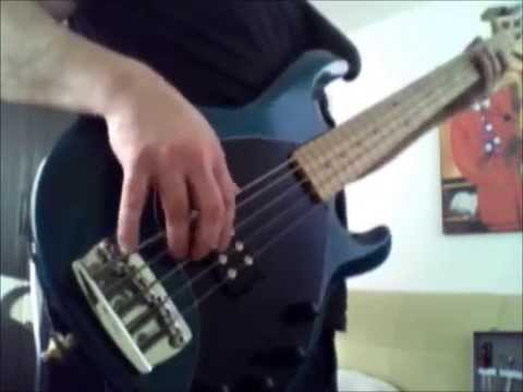 The Greeting Song | Red Hot Chili Peppers Bass Cover | MusicMan StingRay 5