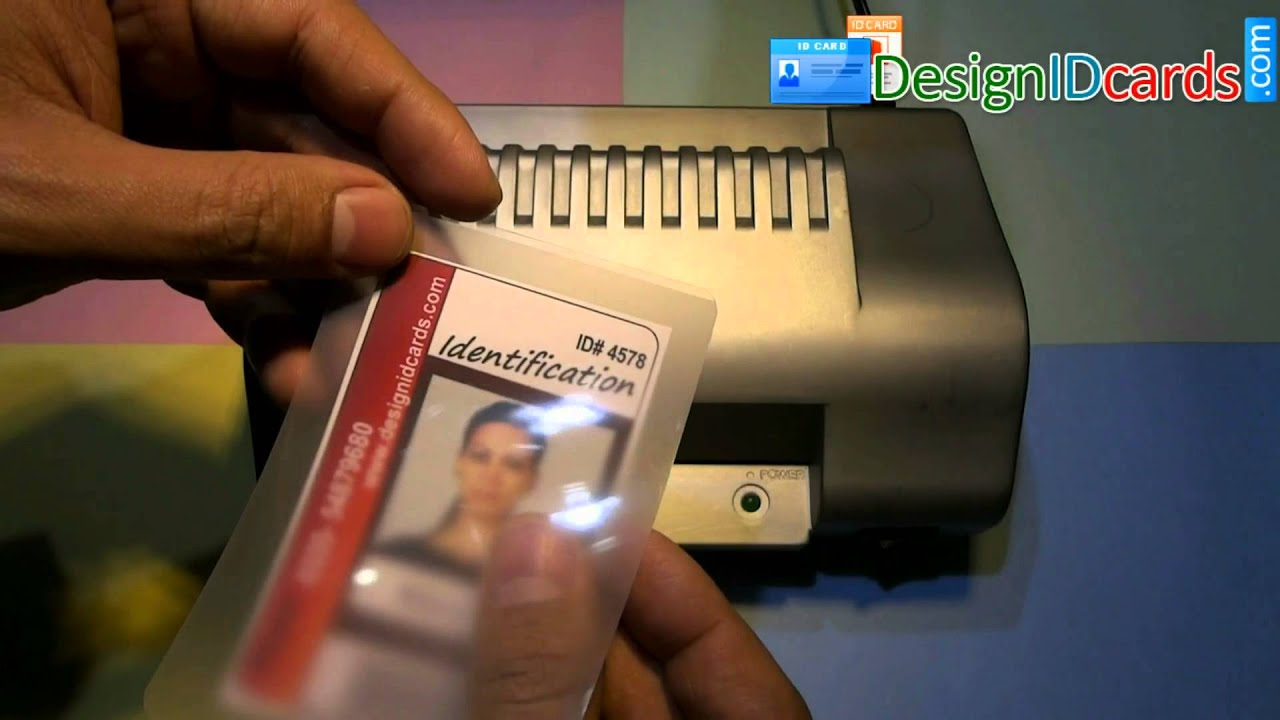 Free Laminated Identity ID Cards Designing Software For Corporate ...