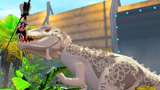 Jurassic World - Owen Escapes the Indominus Rex Paddock