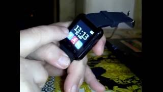 Smart Watch uWatch u8 u80 disassembly разборка