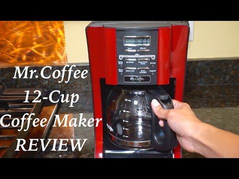 Mr Coffee 12-Cup Programmable Coffeemaker Review - YouTube