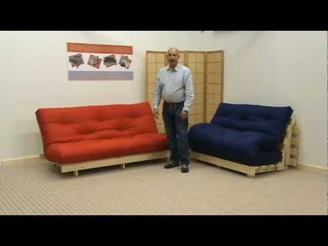 The York Pine Futon Sofabed