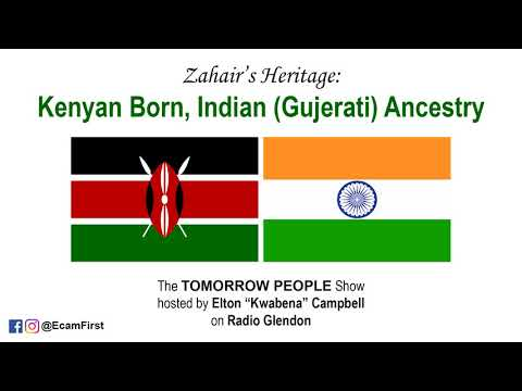 Born in KENYA with INDIAN (Gujerati) Ancestry