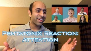 "Pentatonix Reaction Video: ""Attention"" Music Video"