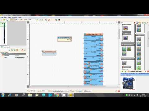 Visuino: Fingerprint Sensor With Nextion Display: 8 Steps (with