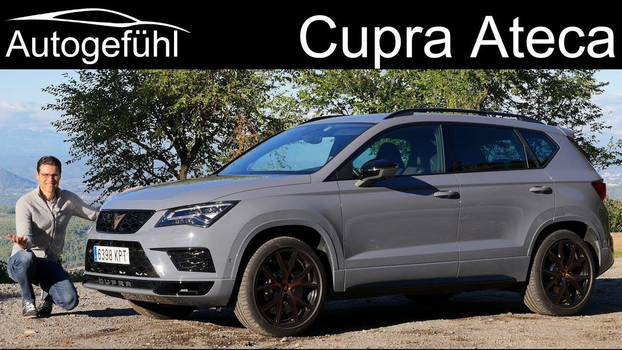 cupra ateca full review new 300 hp seat sport suv. Black Bedroom Furniture Sets. Home Design Ideas