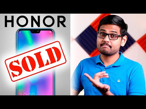 "Huawei Sold Honor ""OFFICIALLY"""