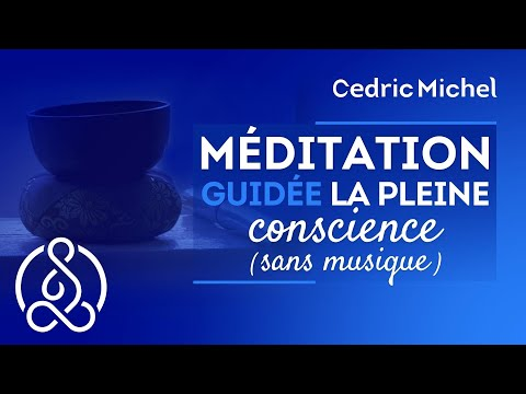 Méditation guidée débutants dans la pleine conscience - meditation #7 🌼 Cédric Michel