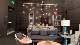 YouTube Space LA - Stage 4 Tour (with Living Room Furniture)
