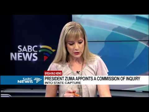 BREAKING: Pres. Zuma appoints Commission of Inquiry into state capture