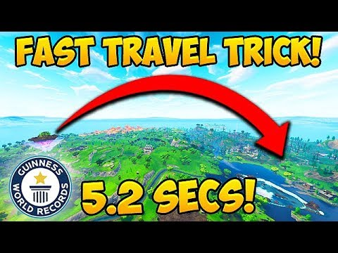 *TRICK* Cross Map in 5 SECONDS! - Fortnite Funny Fails and WTF Moments! #350