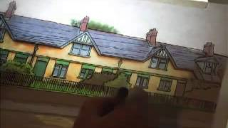 Bushmills Heritage Trail - Coloring the Heritage Illustrations