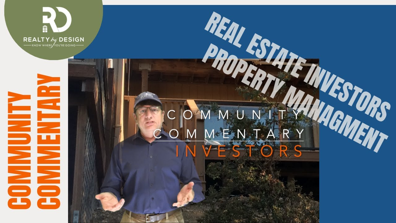 Real Estate Buy and Hold - Property Management - Placer County California