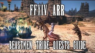 FFXIV ARR: Beastmen Tribe Quests Q&A (Patch 2.1)