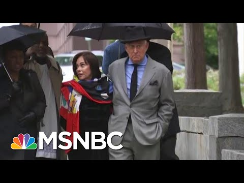 Roger Stone Trial: Gates Testimony Contrasts With Trump's Answers To Mueller | The Last Word | MSNBC