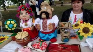"""Парк """"Ковалёвский """"в день города. Виставки , презентации, мастер-классы,"""