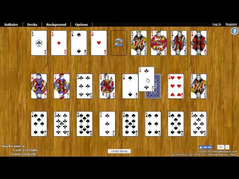Crescent Solitaire - How To Play