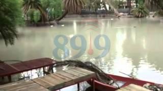 Video: Inició el llenado del lago del parque San Martín