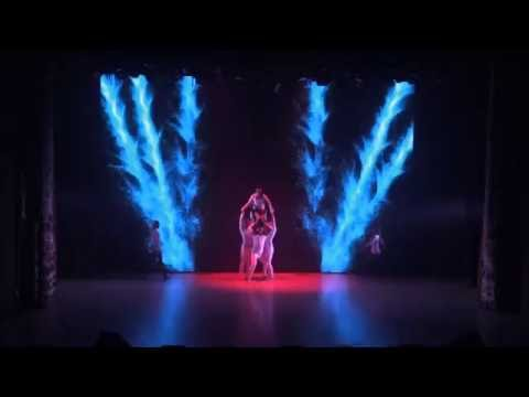 3D Mapping Dance  - The Birth of Energy