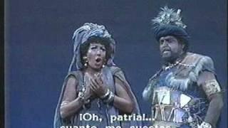 Juan Pons - Maria Chiara - AIDA - act 3 - Duo: Aida Amonasro. Ciel, mio padre.