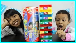 UNO STACKO CHALLENGE ft Buma ♥ Kids Challenge
