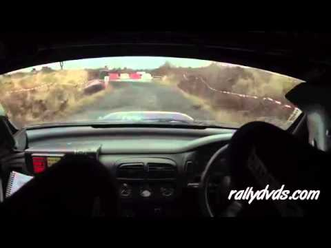 Subtitled version of Neil Hickey & Enda Kennedy - Funny Irish Rally Video!