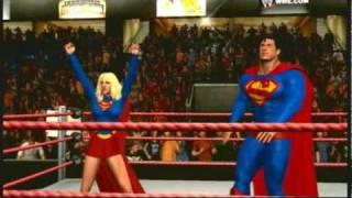 svr 2010 superman supergirl vs joker catwoman xbox 360