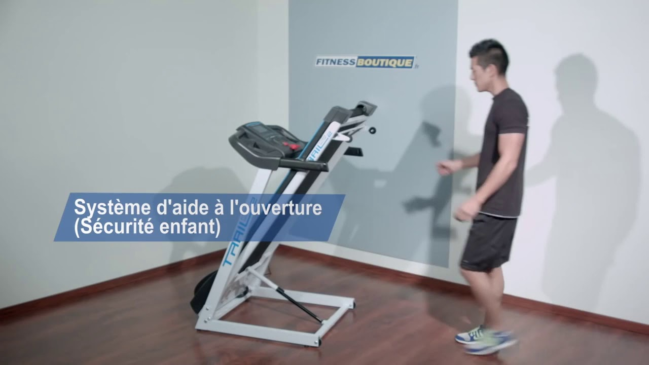 Tapis De Course Fitness Doctor Trail 2 Youtube