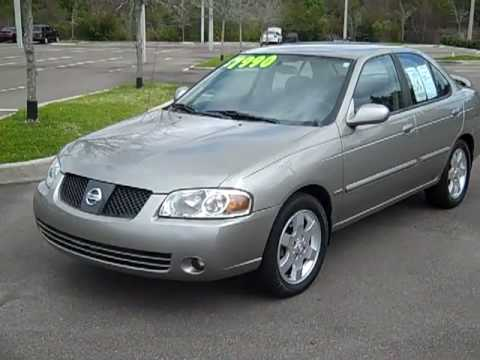 06 nissan sentra special edition used car video. Black Bedroom Furniture Sets. Home Design Ideas