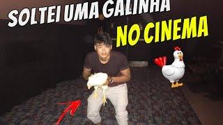 SOLTEI UMA GALINHA NO CINEMA #Quem manda é você 13